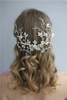 Handmade Floral Delicate Leaf Vine Headdress Wedding Women Fancy Headpiece