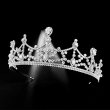 Tiaras Crown Rhinestone Pageant Crowns Bride Headbands Wedding