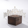 Delicacy Princess Crown Hairband Women Handmade Wedding Bridal Tiaras