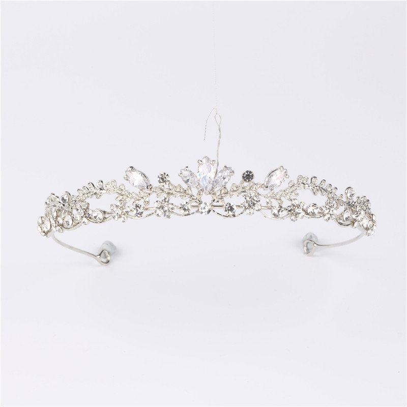 Crystal Headband Bridal Headdress Hair Accessories Birthday Crown Jewelry