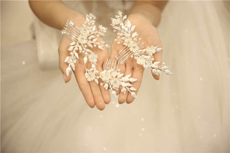 Charming Eco-friendly Alloy Material Personalized Decorative Crystal Headband