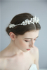 Hairbands Crown Handmade Headdress Shell Floral Hair Combs For Women