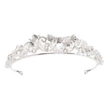 Latest Beauty Silver Wedding Hair Accessories Bride Crowns Bridal Tiara