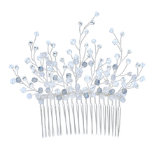 Crystal Beaded Handmade Wedding Accessories Crystal Jewelry Bridesmaid Hair Combs