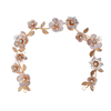 Bridal Accessories Headband Earring Floral Wedding Party Crystal Women Headpiece