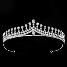 High Quality Rhinestone Headband Princess Wedding Crystal Bride Crown