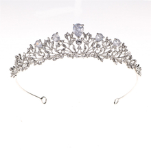 Hollow Out Wedding Hair Accessories Tiaras Flower Crown Bridal Crown