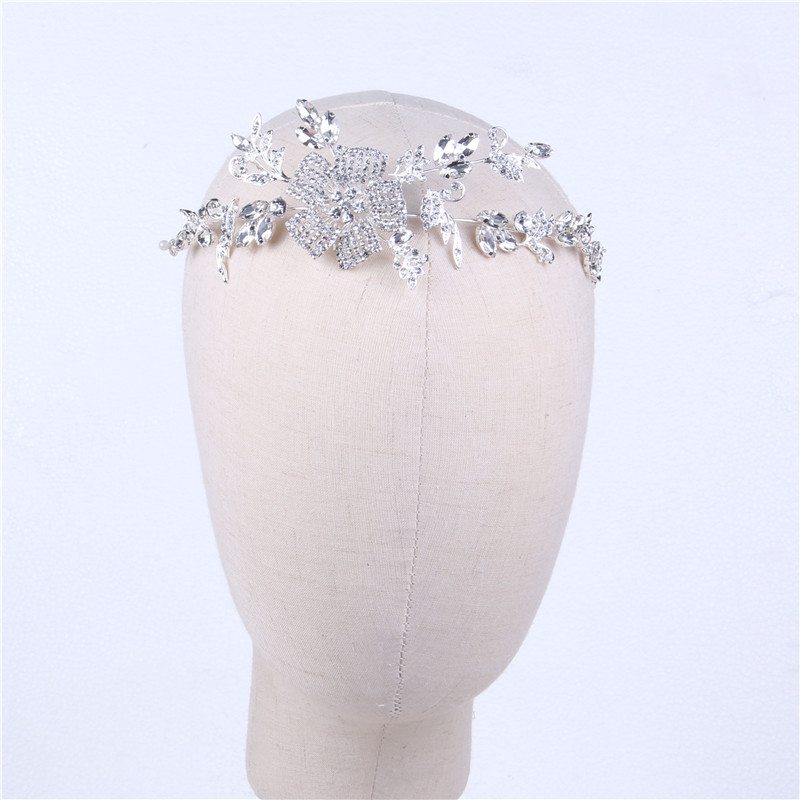 Custom Designs Fashional Rhinestone Tiara Crystal Bridal Wedding Crown