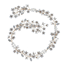 Rhinestone Pearl Crystal Wedding Headband Bridal Hair Accessory Headpieces