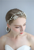 Personalized Elegant Beauty Flower Gold Bridal Tiara Chinese Wedding Crown