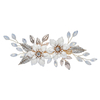 China factory bridal hair accessories enamel flower hair clip for Wedding