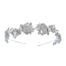 European Fashion Rhinestone Crystal Wedding Headband Bridal Hair Accessory Headpieces