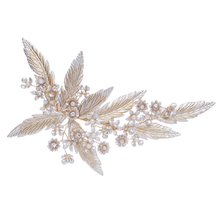 New Style Fashion Flower Tiara Rhinestones Hair Jewelry Bridal Hair Clips For Women