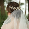 2020 Fashion Crystal Pearl Flower Headband Wedding Tiara Bridal Headpiece