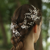 Luxury Beads Hairclip Rhinestone Flower Hair Pins Wedding Fascinators For Women